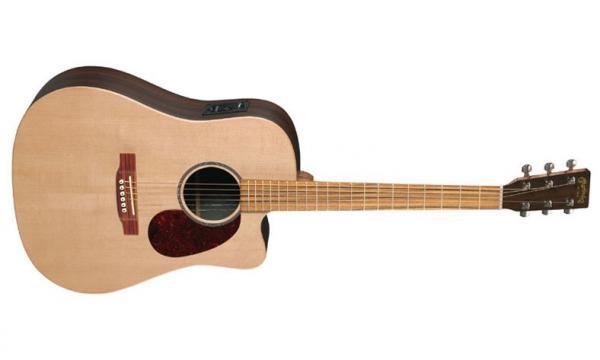 martin guitar martin guitar dcx1re natural satin livr chez vous avec star 39 s music. Black Bedroom Furniture Sets. Home Design Ideas