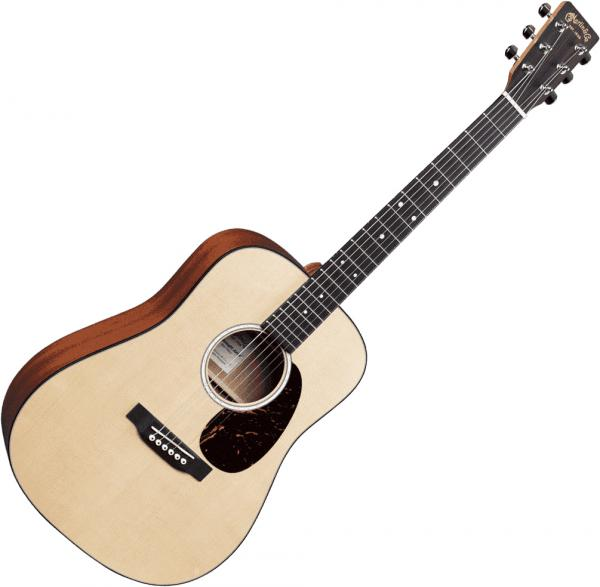Guitare folk voyage Martin guitar DJr-10E +Bag - natural