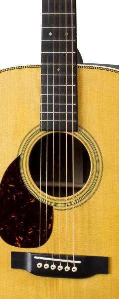 Guitare folk Martin guitar OM-28 Standard Re-Imagined Gaucher - natural aging toner