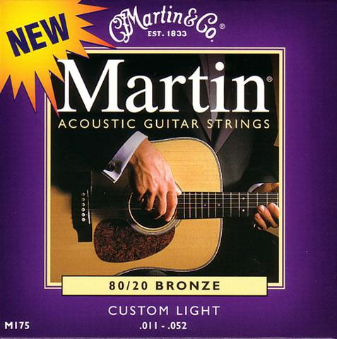 image Acoustic (6) M175 Custom Light 011-052 - jeu de cordes
