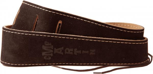 Sangle courroie Martin 2.5inc. Suede Strap 18A0017 - Brown