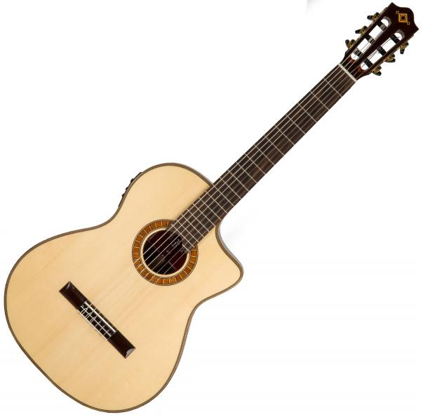 Guitare classique format 4/4 Martinez Crossover MP12-RS +Bag - natural