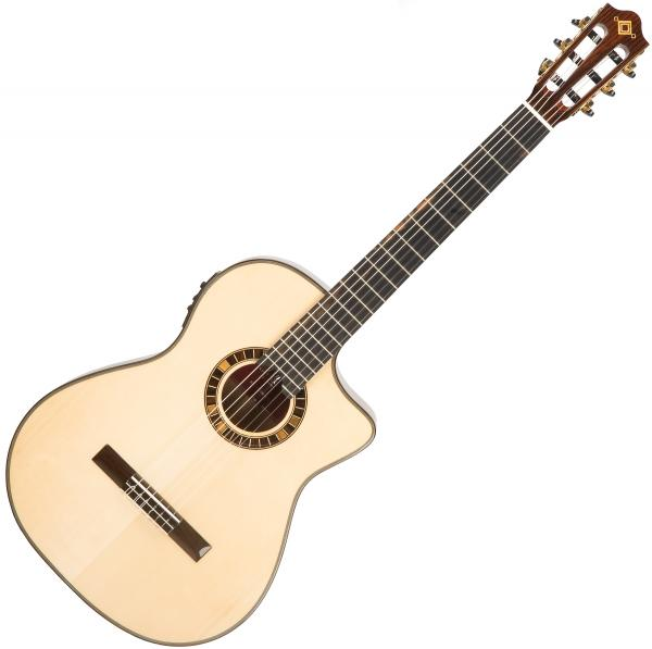 Guitare classique format 4/4 Martinez Crossover MP12-ST +Bag - Natural
