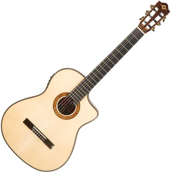 Guitare classique format 4/4 Martinez Crossover MP12-ZI +Bag - Natural
