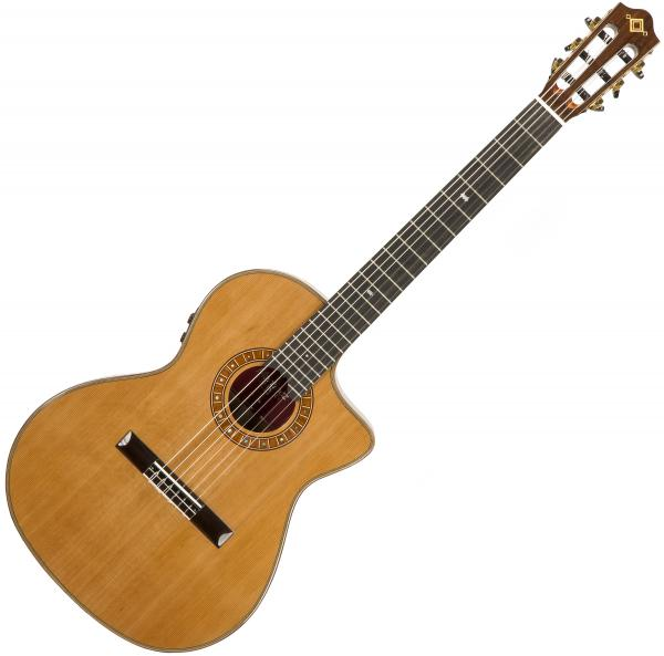 Guitare classique format 4/4 Martinez Crossover MP14-MH +Bag - Natural