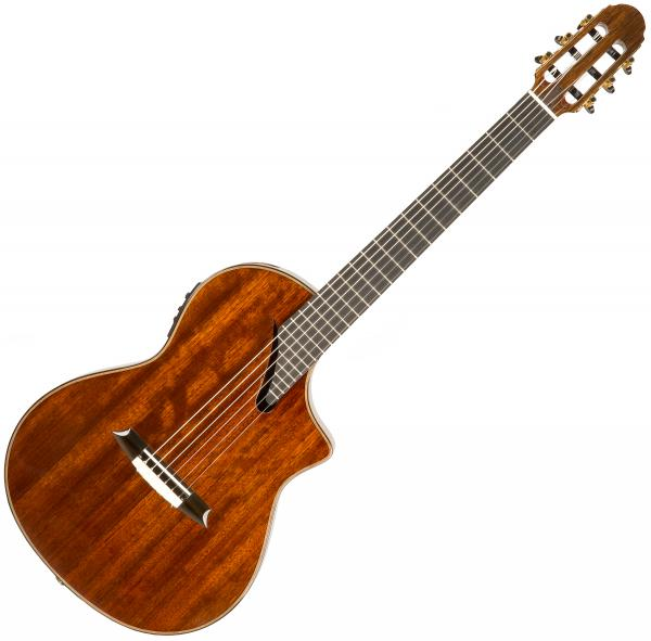 Guitare classique format 4/4 Martinez Performer MSCC-14OV +Case - Natural
