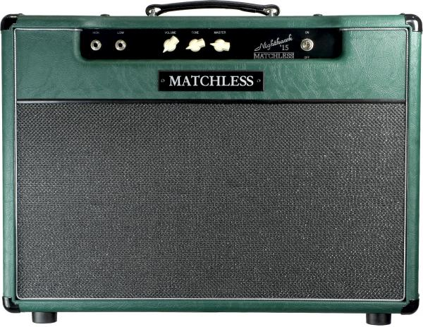 Combo ampli guitare électrique Matchless Nighthawk 112 Combo - Green/Silver