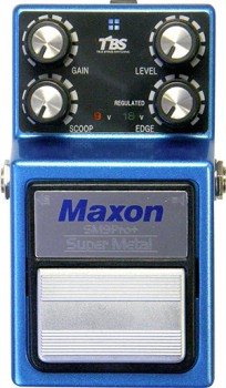 Pédale overdrive / distortion / fuzz Maxon SM-9 PRO+