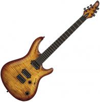 Guitare électrique solid body Mayones guitars Regius Core Classic 6 (Mahogany, Seymour Duncan) - 3-tone sunburst