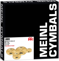 Pack cymbales Meinl HCS Set 3 cymbales 14/16/20 + 10