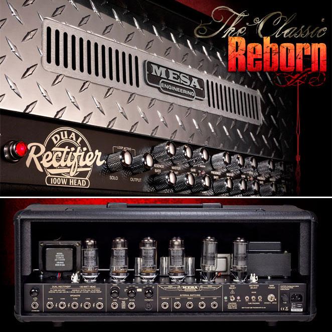 Tête ampli guitare électrique Mesa boogie Dual Rectifier