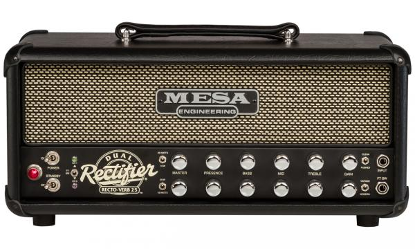 Tête ampli guitare électrique Mesa boogie Recto-Verb Twenty-Five Head - Black