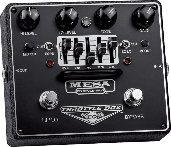 Pédale overdrive / distortion / fuzz Mesa boogie Throttle Box Dual Mode EQ