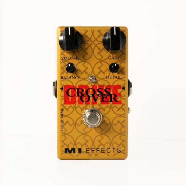 Pédale overdrive / distortion / fuzz Mi audio CROSS OVER