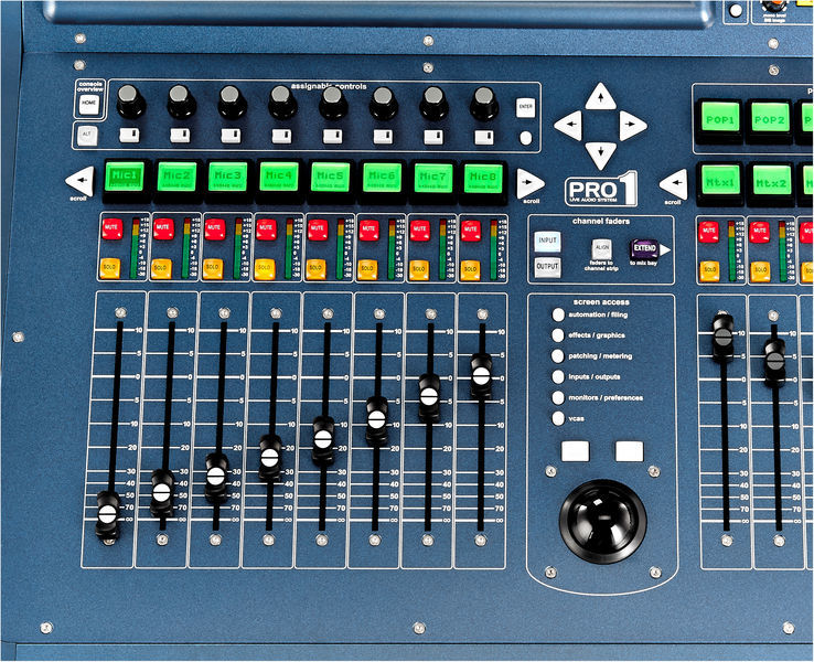 Table De Mixage Numerique Midas Pro1 Tp