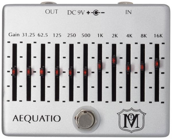Pédale eq. / enhancer / buffer Ministry of tones Aequatio Equalizer