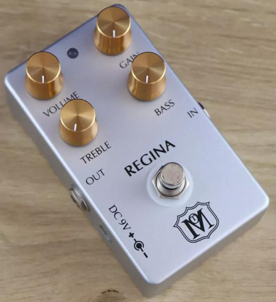 Pédale overdrive / distortion / fuzz Ministry of tones Regina Overdrive
