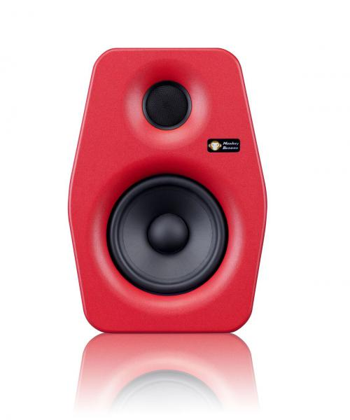 Enceinte monitoring active Monkey banana Turbo 5 Red - La pièce