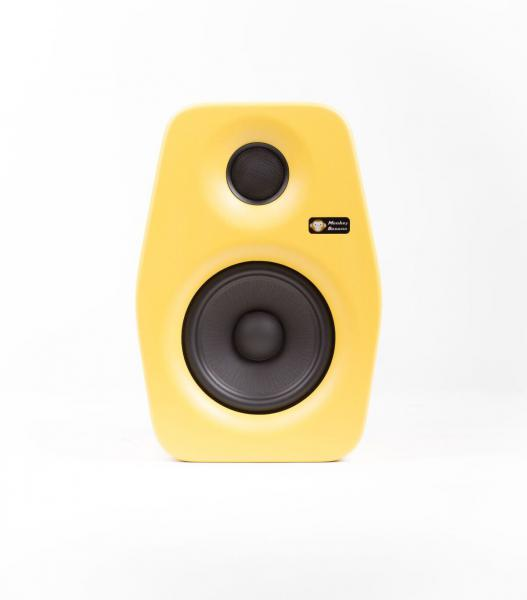 Enceinte monitoring active Monkey banana Turbo 5 Yellow - La pièce