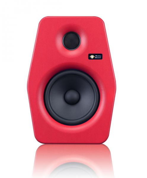 Enceinte monitoring active Monkey banana Turbo 6 Red - La pièce