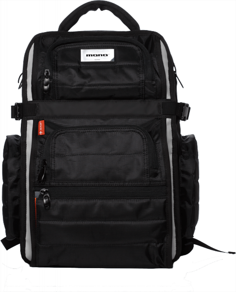 Housse dj Mono EFX-FLY-BLK Sac à Dos FlyBy noir