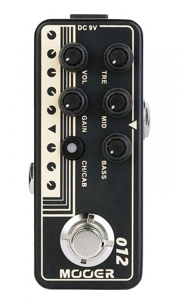 Pédale overdrive / distortion / fuzz Mooer 012 US GOLD 100