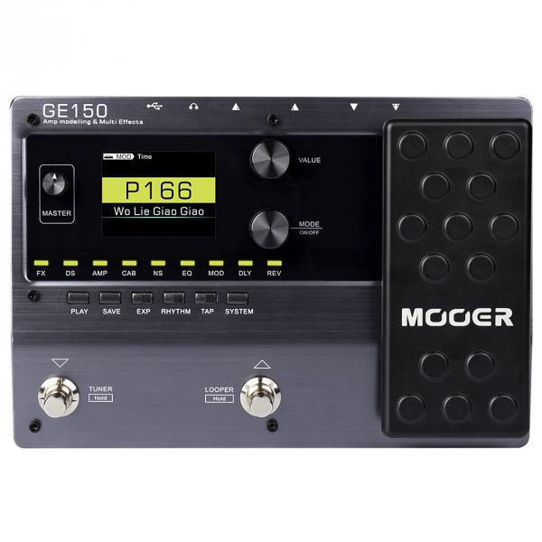 Multi effet guitare élec. en pédalier Mooer GE150 AMP MODELLING & SYNTH & MULTI EFFECTS