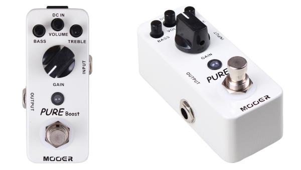 Pédale compression / sustain / noise gate  Mooer Pure Boost