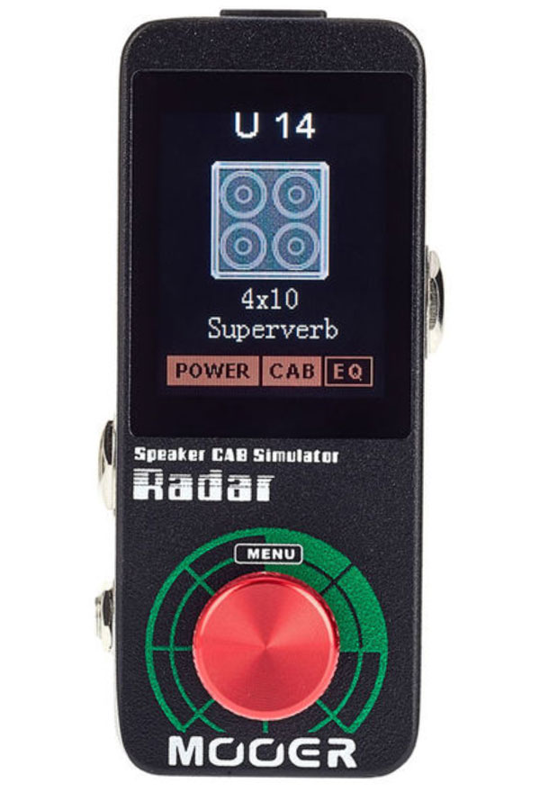 Simulateur de haut parleur Mooer Radar Speaker Cab ...