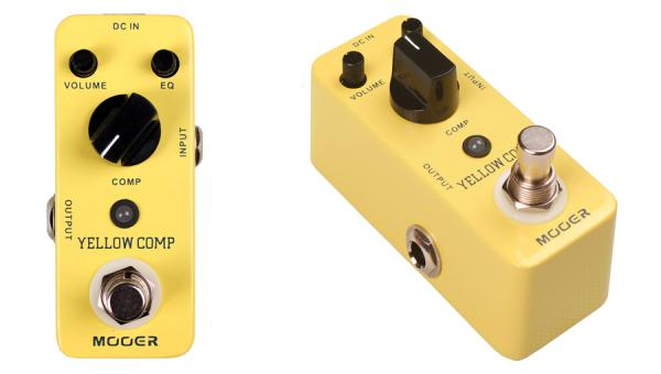 Pédale compression / sustain / noise gate  Mooer Yellow Comp