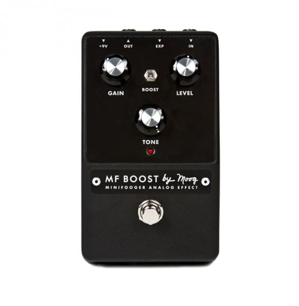 Pédale volume / boost. / expression Moog Minifooger MF Boost