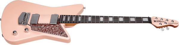 Guitare électrique solid body Music man Mariposa - pueblo pink