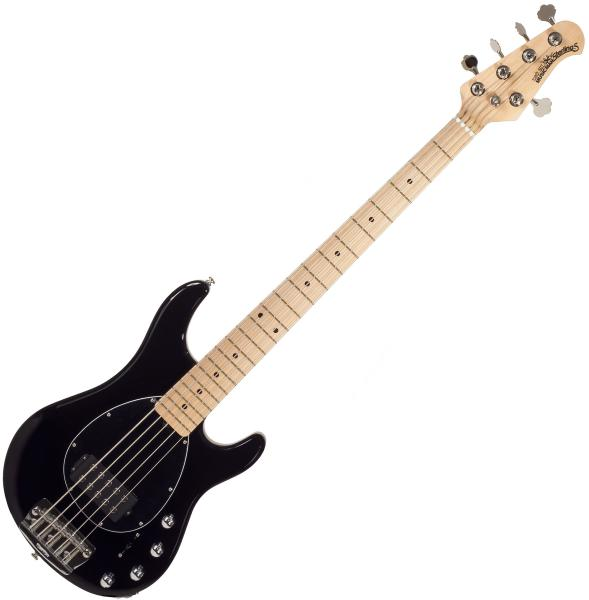Basse électrique solid body Music man Sterling 5 H (MN) - black