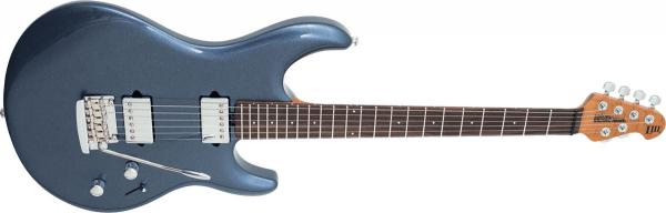 Guitare électrique solid body Music man Steve Lukather Luke III HH - bodhi blue