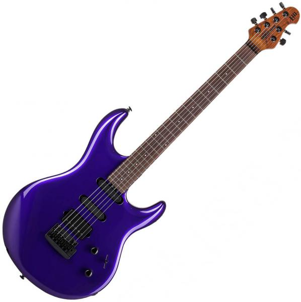 Guitare électrique solid body Music man Steve Lukather Luke III HSS - firemist purple