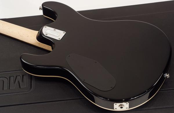 Guitare électrique solid body Music man Steve Morse Y2D Non-Trem Matching Headtock - black burst