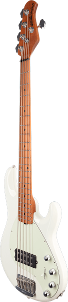 Basse électrique solid body Music man StingRay5 Special 2019 (H, MN) - ivory white