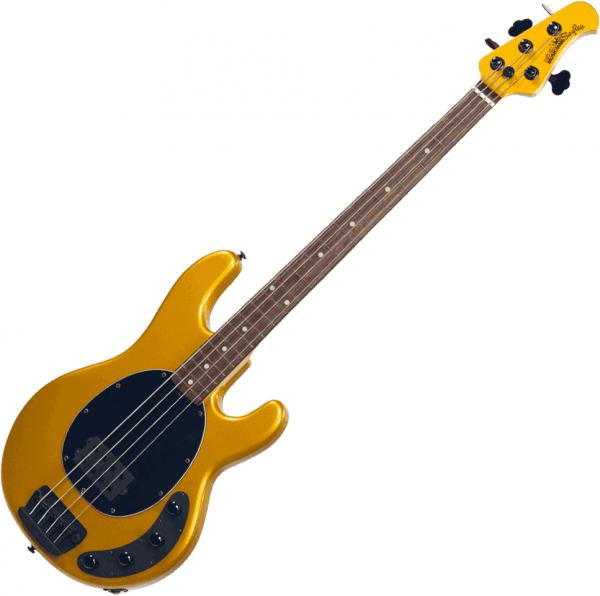 Basse électrique solid body Music man Stringray Bass 4 H 3EQ (RW) - firemist gold