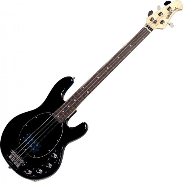 Basse électrique solid body Music man Stringray Bass 4 H 3EQ (RW) - black