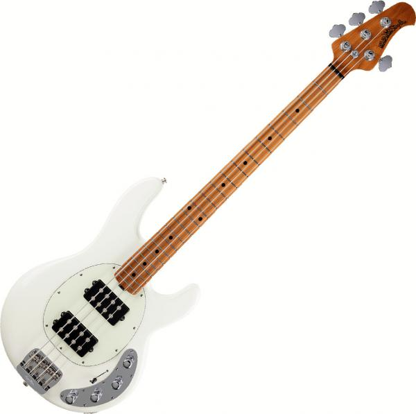 Basse électrique solid body Music man Stingray Special 2019 (HH, MN) - ivory white