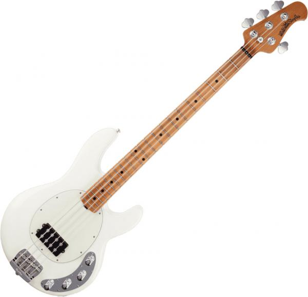 Basse électrique solid body Music man Stingray Special 2019 (H, MN) - Ivory white