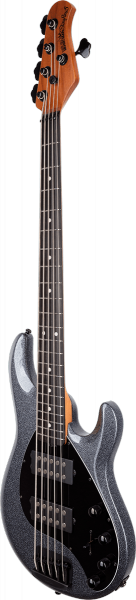 Basse électrique solid body Music man StingRay5 Special 2019 (HH, EB) - charcoal sparkle