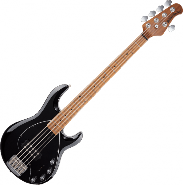 Basse électrique solid body Music man StingRay5 Special 2019 (H, MN) - black