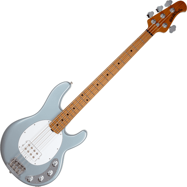 Basse électrique solid body Music man Stingray Special (H, MN) - Firemist silver