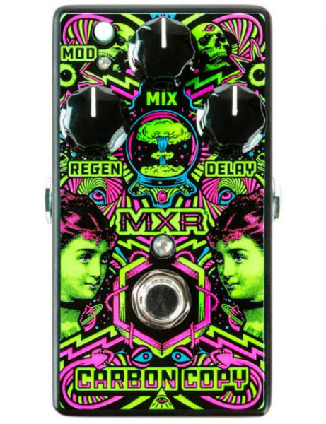 Pédale reverb / delay / echo Mxr ILD169 ILoveDust Carbon Copy Analog Delay Ltd