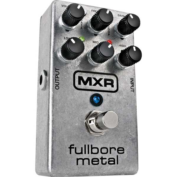 Pédale overdrive / distortion / fuzz Mxr M116 Fullbore Metal