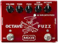 image Slash Octave Fuzz SF01R Ltd - Ruby Red Metallic