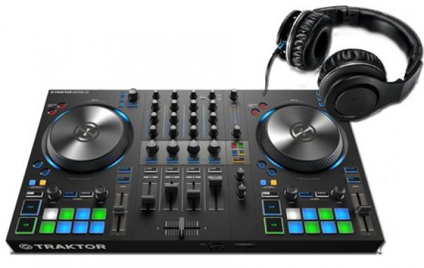 Contrôleur dj Native instruments Kontrol S3 + Rhp30 Black