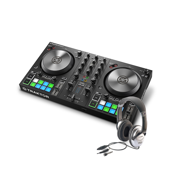 Pack dj Native instruments Kontrol S2 MK3 + Casque Stagg SHP2300h