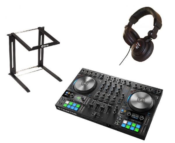 Pack dj Native instruments Traktor Kontrol S4 MK3 + Stand DJ + Casque